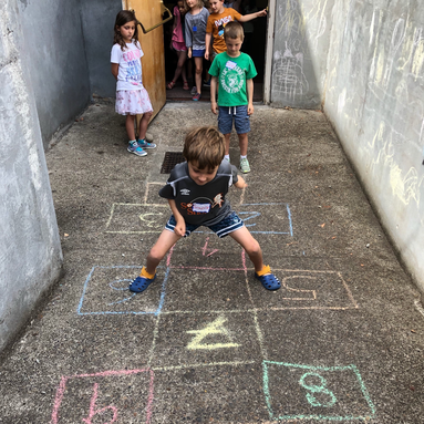 camp hopscotch